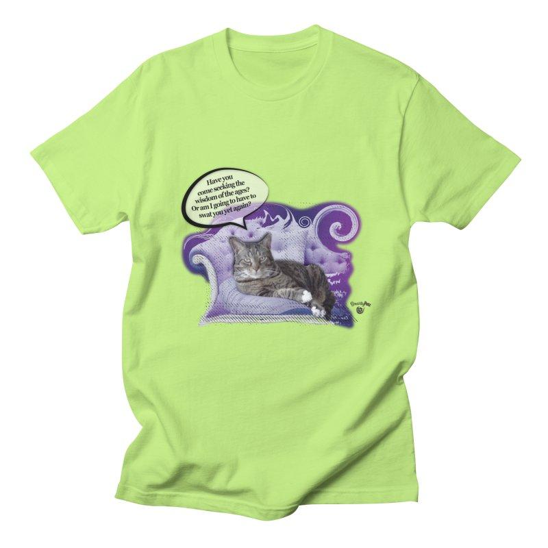 Seeking Wisdom Women's Regular Unisex T-Shirt by Smarty Petz's Artist Shop