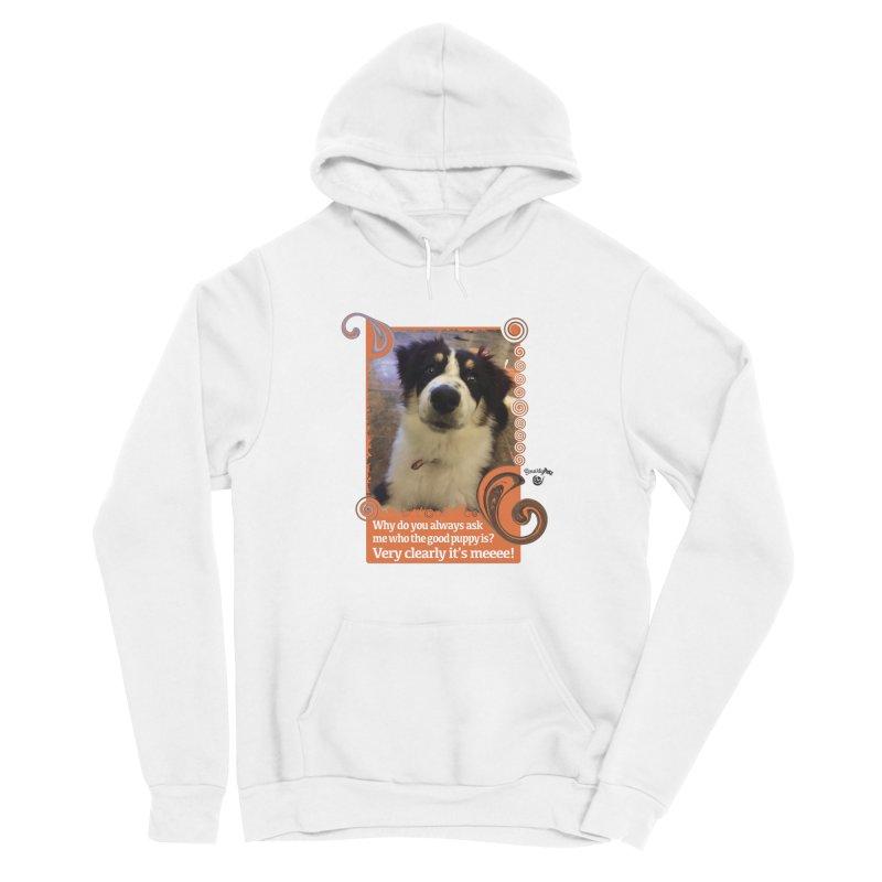 Good Puppy Men's Pullover Hoody by Smarty Petz's Artist Shop