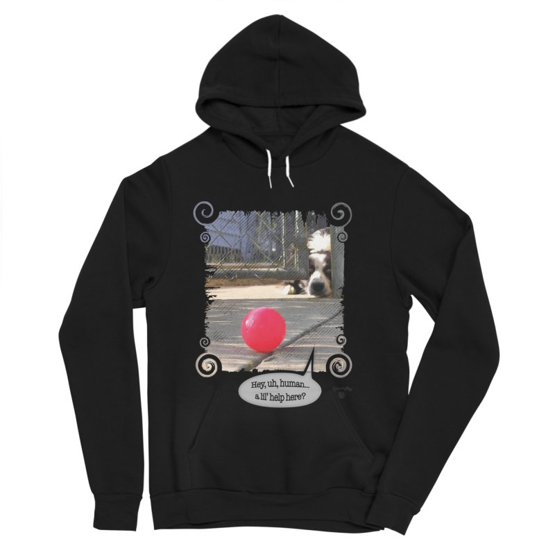 a lil' help here? Men's Sponge Fleece Pullover Hoody by Smarty Petz's Artist Shop