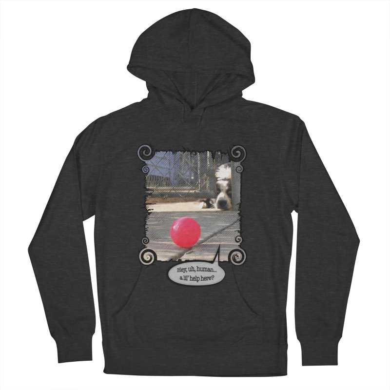 a lil' help here? Men's French Terry Pullover Hoody by Smarty Petz's Artist Shop