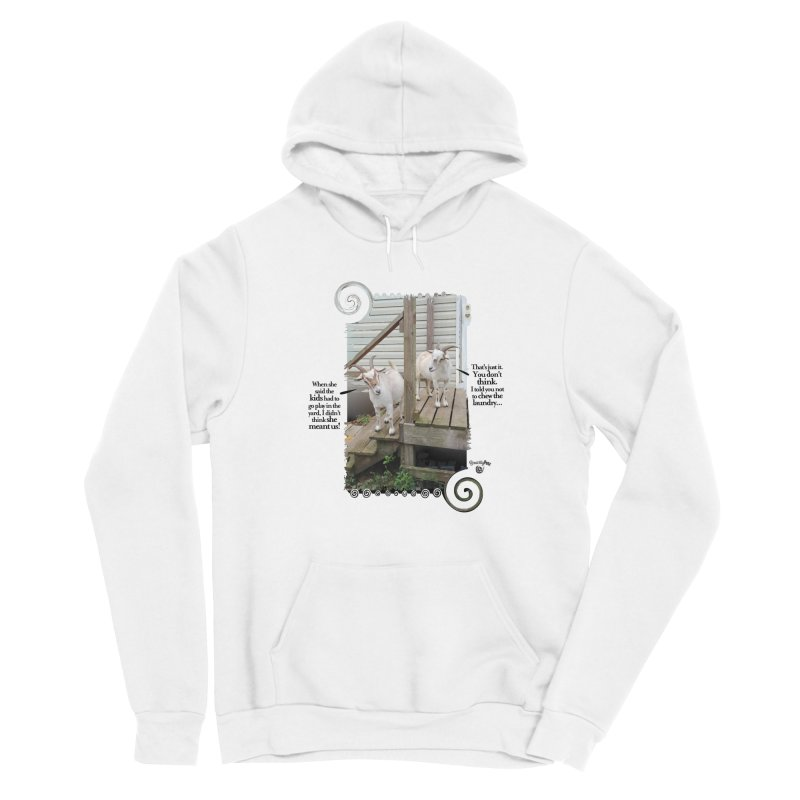 Kids, go play in the yard Men's Pullover Hoody by Smarty Petz's Artist Shop