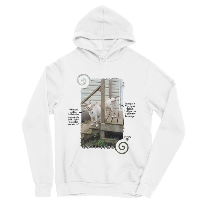 Kids, go play in the yard Men's Sponge Fleece Pullover Hoody by Smarty Petz's Artist Shop