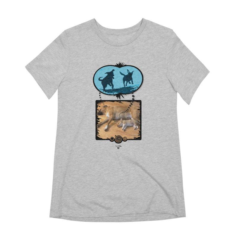 Sweet Dreams Women's Extra Soft T-Shirt by Smarty Petz's Artist Shop
