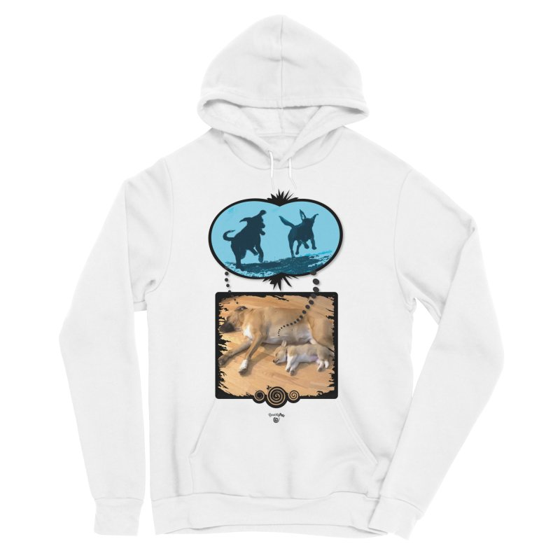 Sweet Dreams Men's Sponge Fleece Pullover Hoody by Smarty Petz's Artist Shop
