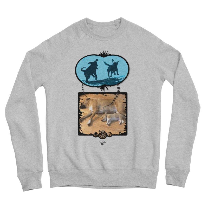 Sweet Dreams Women's Sponge Fleece Sweatshirt by Smarty Petz's Artist Shop