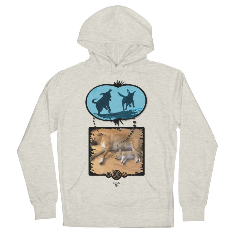 Sweet Dreams Men's French Terry Pullover Hoody by Smarty Petz's Artist Shop
