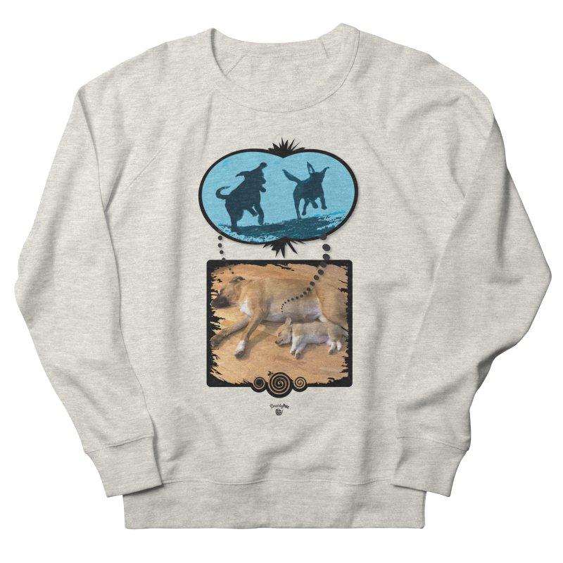 Sweet Dreams Women's French Terry Sweatshirt by Smarty Petz's Artist Shop