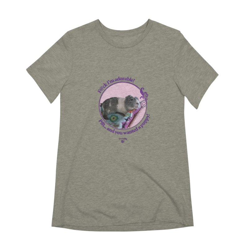 ...and you wanted a puppy! Women's Extra Soft T-Shirt by Smarty Petz's Artist Shop