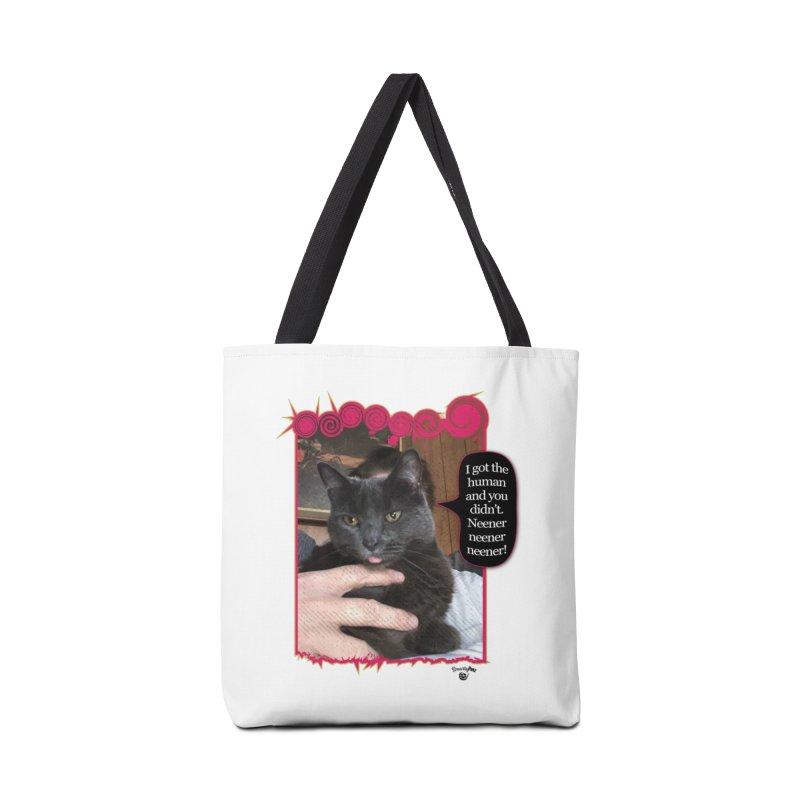 Neener neener neener! Accessories Tote Bag Bag by Smarty Petz's Artist Shop