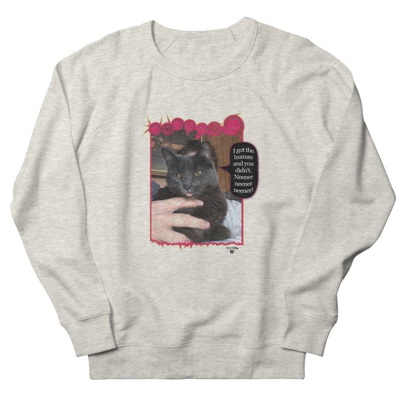 Neener neener neener! Men's French Terry Sweatshirt by Smarty Petz's Artist Shop