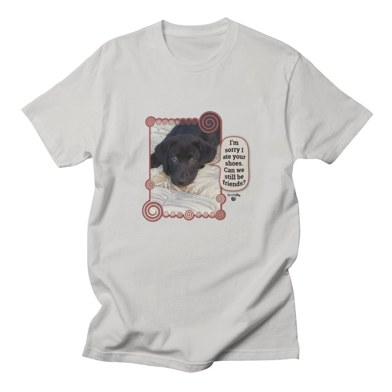 Sorry I ate your shoes Men's T-Shirt by Smarty Petz's Artist Shop