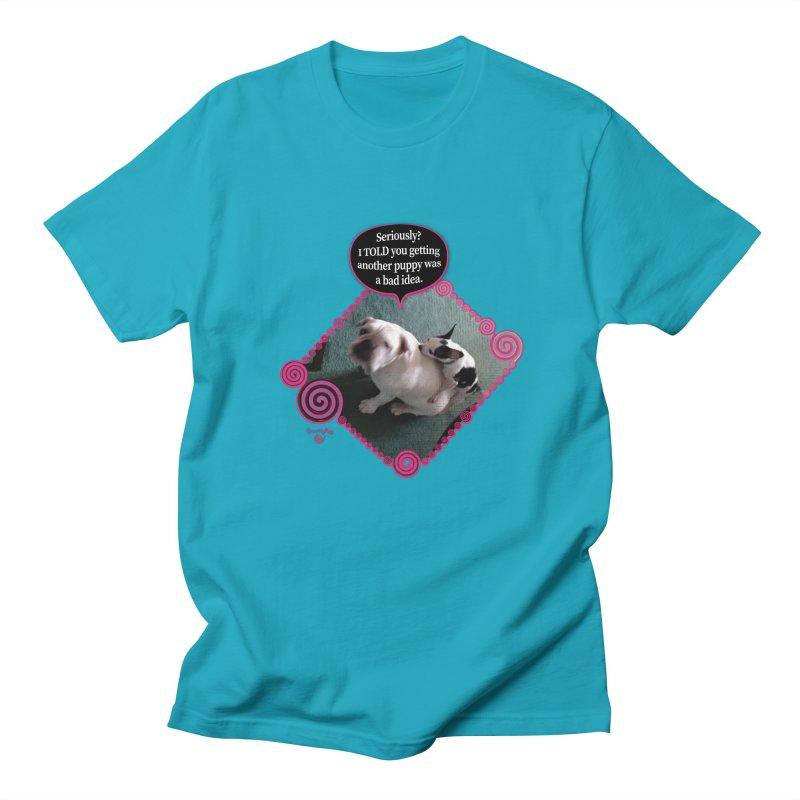 Bad Idea Men's Regular T-Shirt by Smarty Petz's Artist Shop