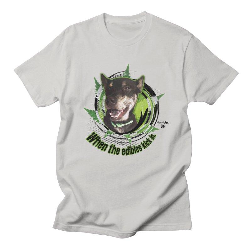 When the edibles kick in. Men's T-Shirt by Smarty Petz's Artist Shop