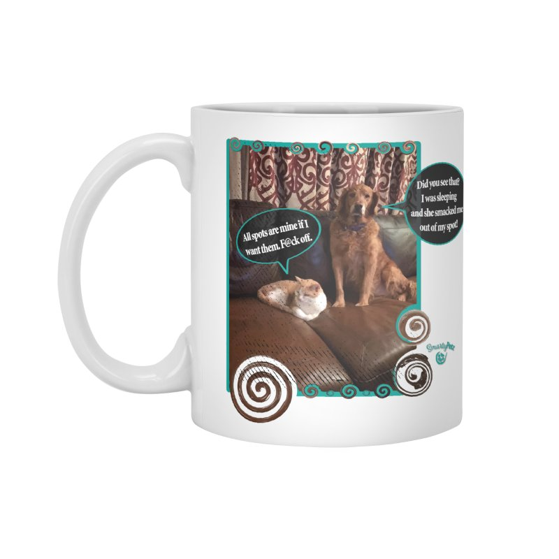 Did you see that? Accessories Standard Mug by Smarty Petz's Artist Shop