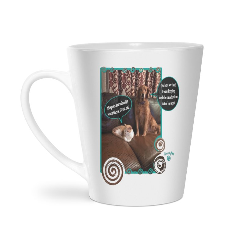 Did you see that? Accessories Latte Mug by Smarty Petz's Artist Shop