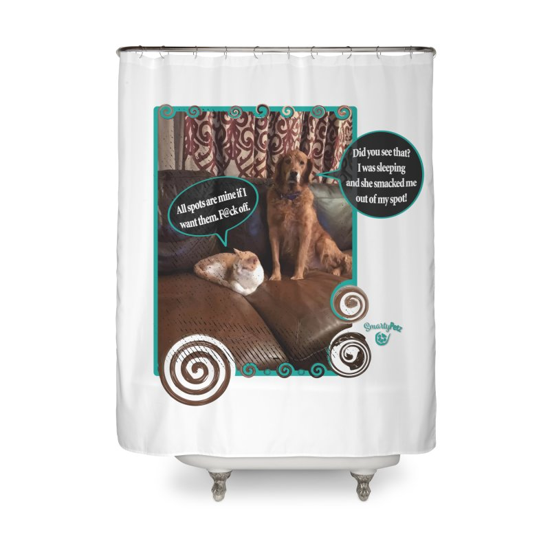 Did you see that? Home Shower Curtain by Smarty Petz's Artist Shop