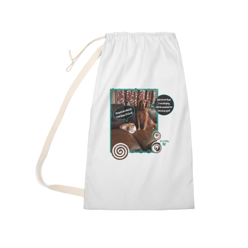 Did you see that? Accessories Laundry Bag Bag by Smarty Petz's Artist Shop