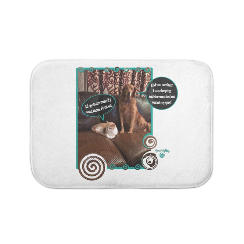 Did you see that? Home Bath Mat by Smarty Petz's Artist Shop