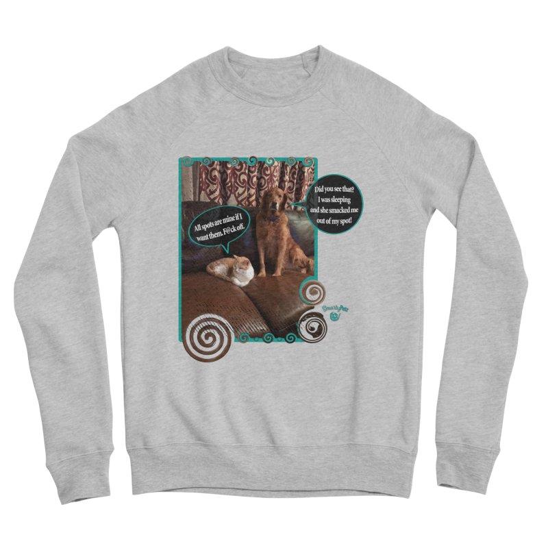 Did you see that? Men's Sponge Fleece Sweatshirt by Smarty Petz's Artist Shop