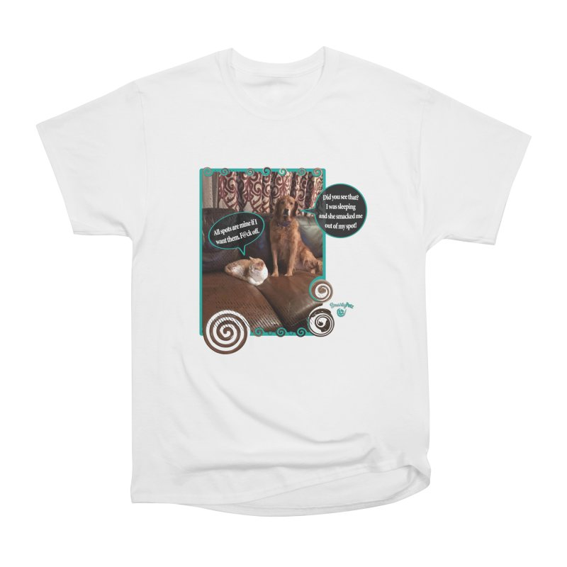Did you see that? Women's Heavyweight Unisex T-Shirt by Smarty Petz's Artist Shop
