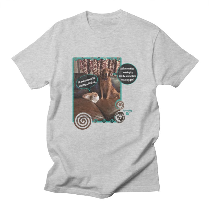 Did you see that? Men's T-Shirt by Smarty Petz's Artist Shop