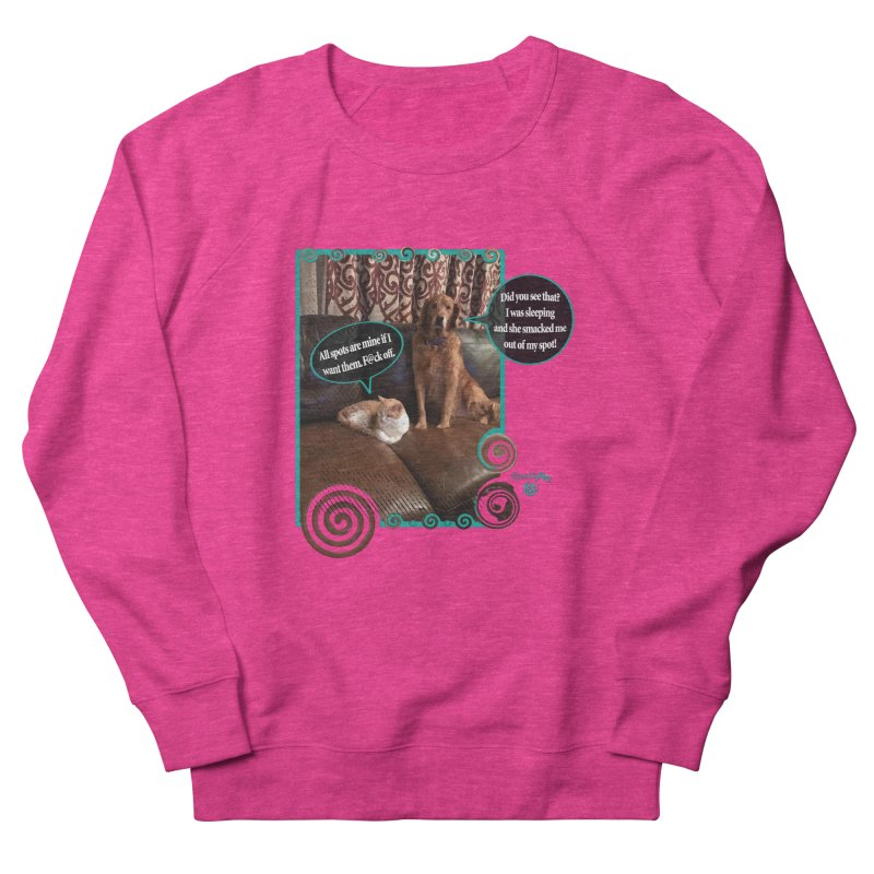 Did you see that? Men's French Terry Sweatshirt by Smarty Petz's Artist Shop