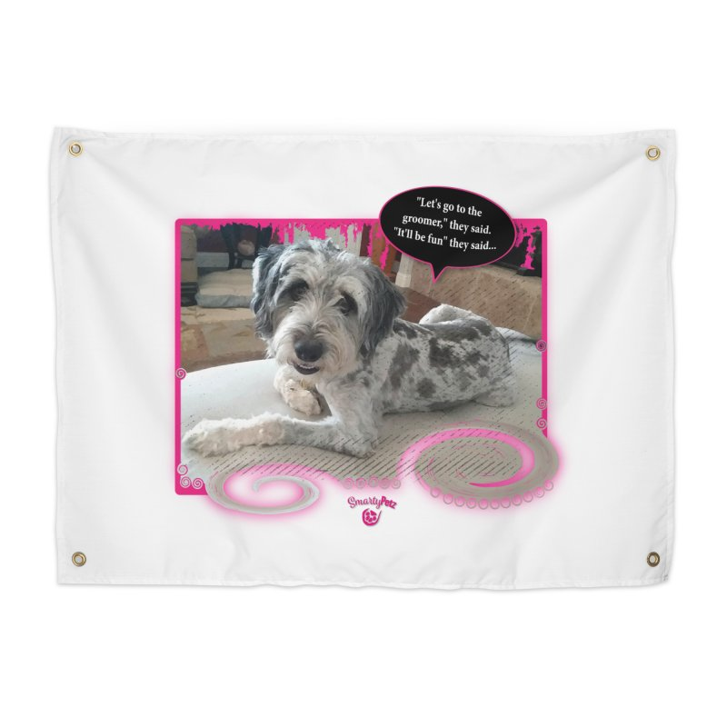 Groomer they said... Home Tapestry by Smarty Petz's Artist Shop