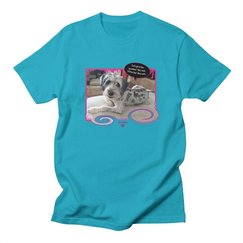 Groomer they said... Men's Regular T-Shirt by Smarty Petz's Artist Shop