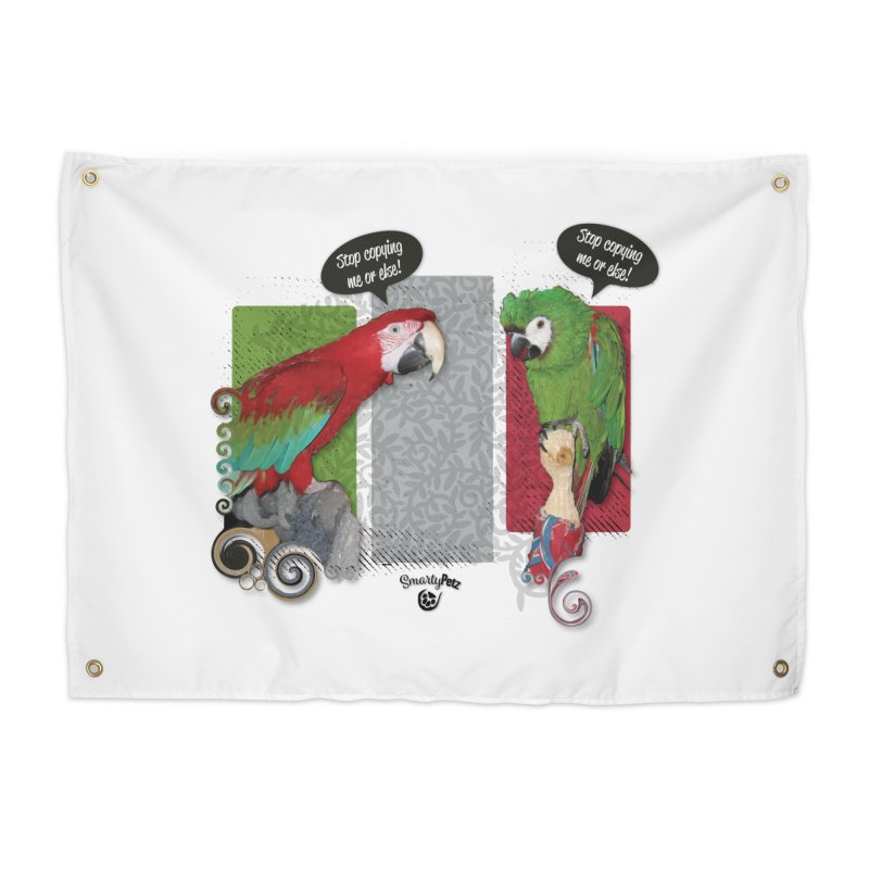 Stop Copying me! Home Tapestry by Smarty Petz's Artist Shop