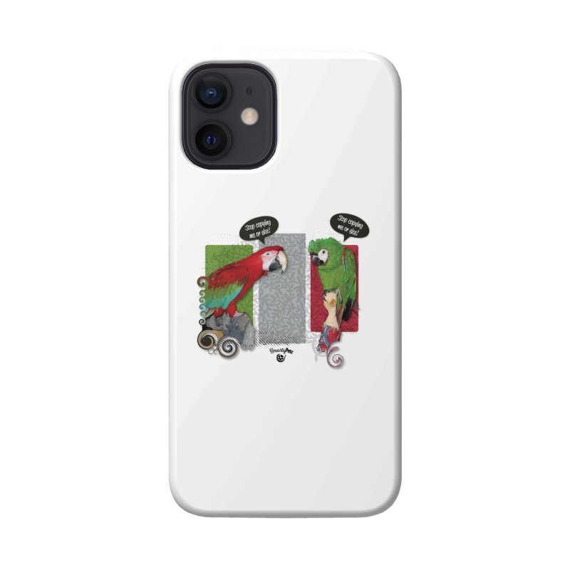 Stop Copying me! Accessories Phone Case by Smarty Petz's Artist Shop