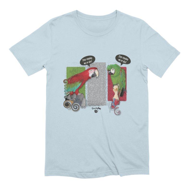Stop Copying me! Men's Extra Soft T-Shirt by Smarty Petz's Artist Shop