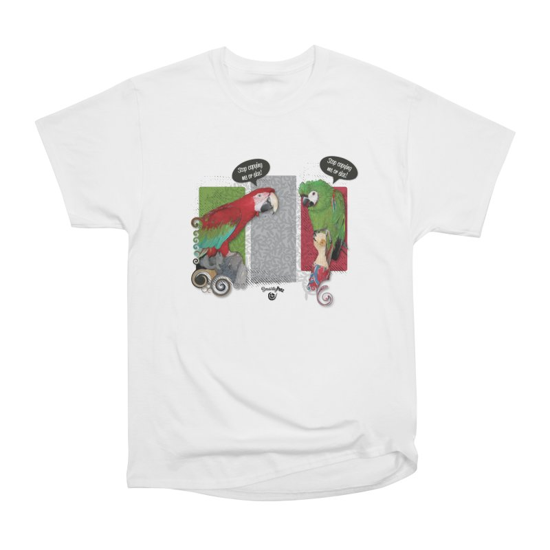Stop Copying me! Men's Heavyweight T-Shirt by Smarty Petz's Artist Shop