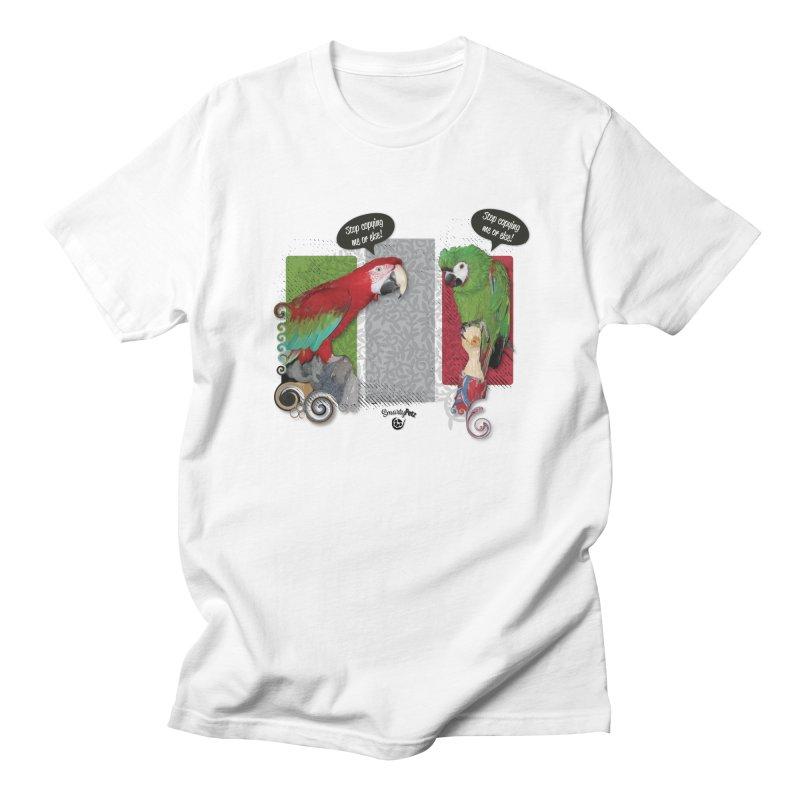 Stop Copying me! Men's Regular T-Shirt by Smarty Petz's Artist Shop