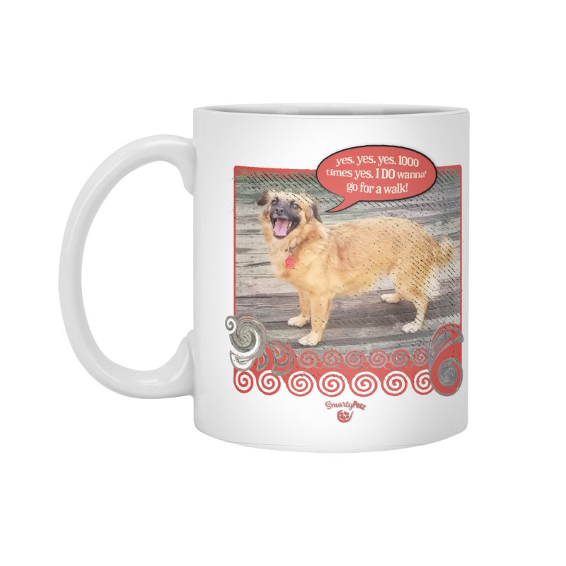 1000 times yes Accessories Standard Mug by Smarty Petz's Artist Shop