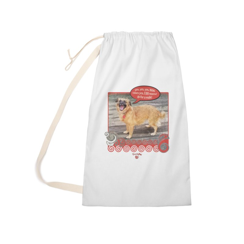 1000 times yes Accessories Laundry Bag Bag by Smarty Petz's Artist Shop