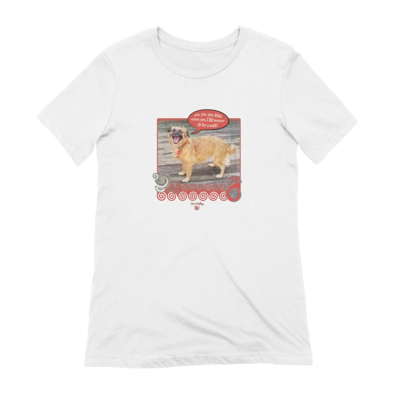 1000 times yes Women's Extra Soft T-Shirt by Smarty Petz's Artist Shop