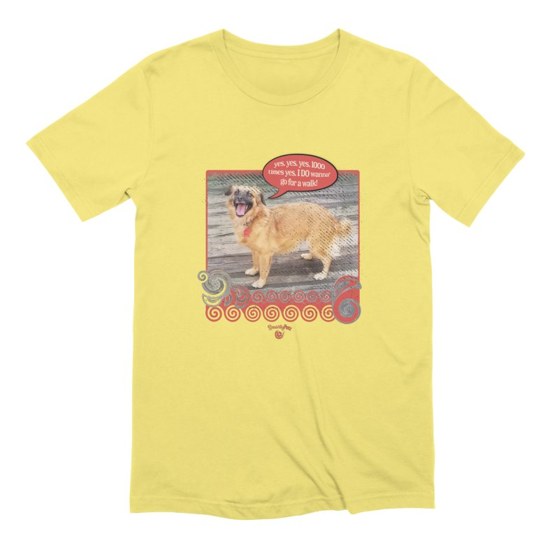1000 times yes Men's Extra Soft T-Shirt by Smarty Petz's Artist Shop