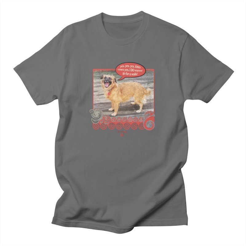 1000 times yes Men's T-Shirt by Smarty Petz's Artist Shop