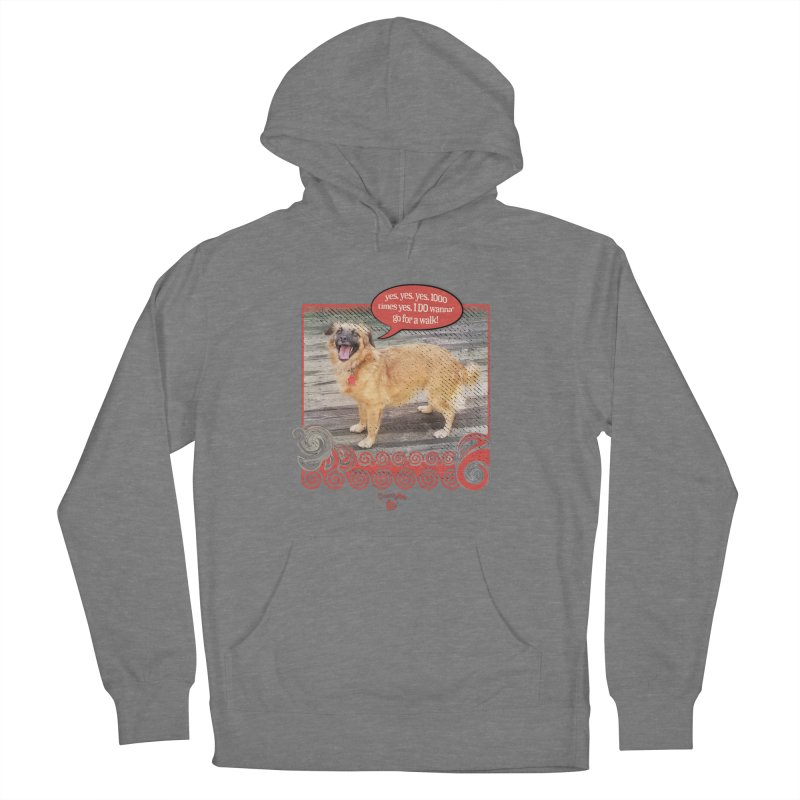 1000 times yes Women's French Terry Pullover Hoody by Smarty Petz's Artist Shop