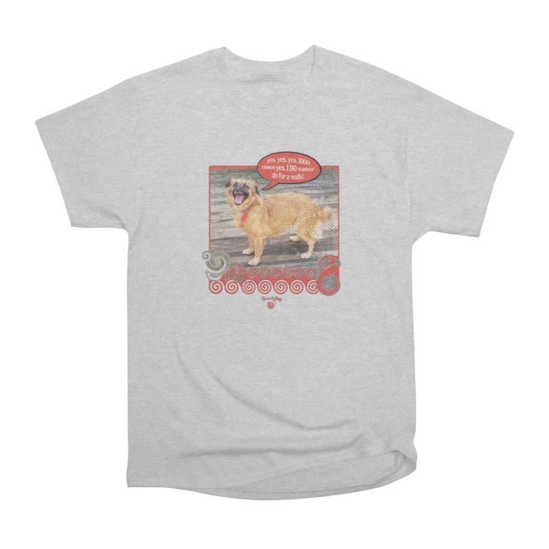 1000 times yes Men's Heavyweight T-Shirt by Smarty Petz's Artist Shop