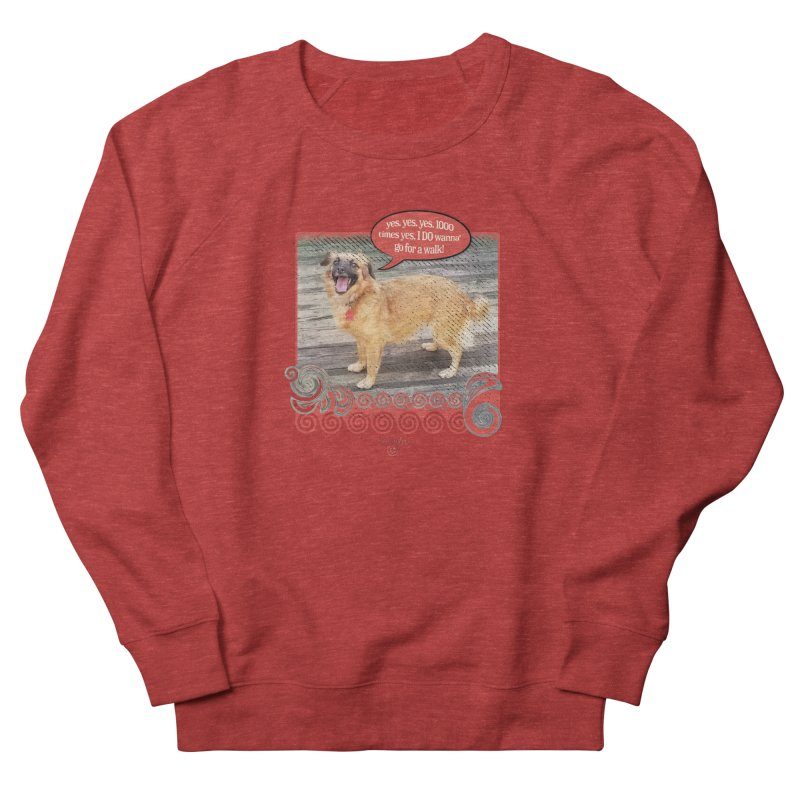 1000 times yes Women's Sweatshirt by Smarty Petz's Artist Shop