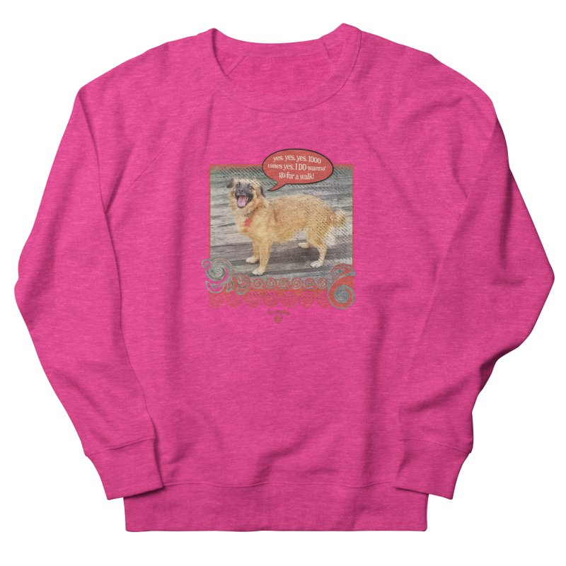 1000 times yes Men's French Terry Sweatshirt by Smarty Petz's Artist Shop
