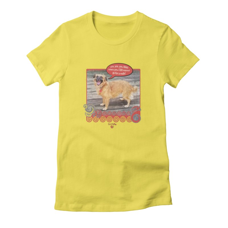 1000 times yes Women's T-Shirt by Smarty Petz's Artist Shop