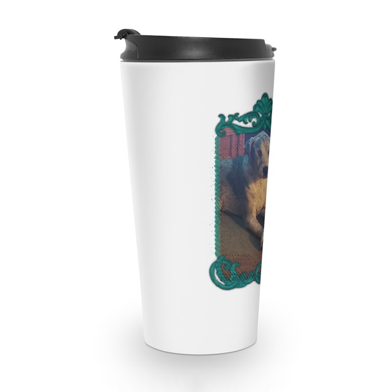 Leave the Milkbone Accessories Travel Mug by Smarty Petz's Artist Shop