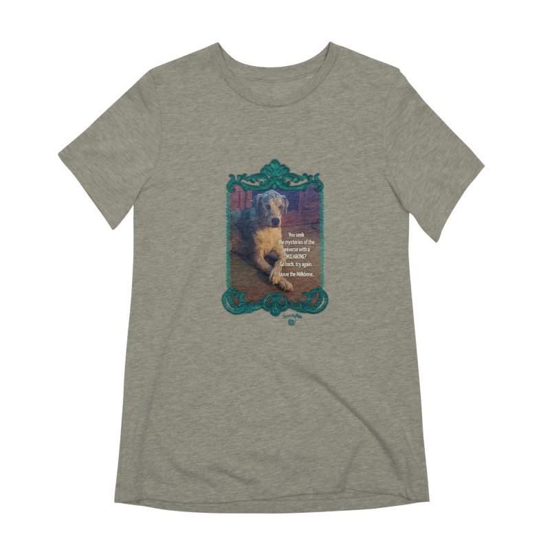 Leave the Milkbone Women's Extra Soft T-Shirt by Smarty Petz's Artist Shop