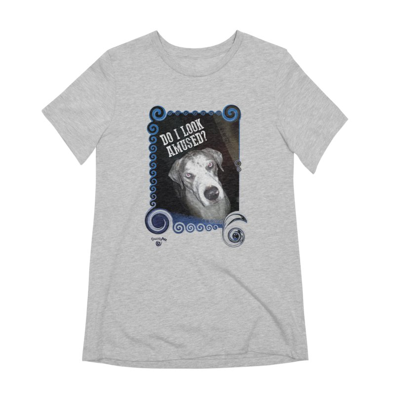 Do I look amused? Women's Extra Soft T-Shirt by Smarty Petz's Artist Shop