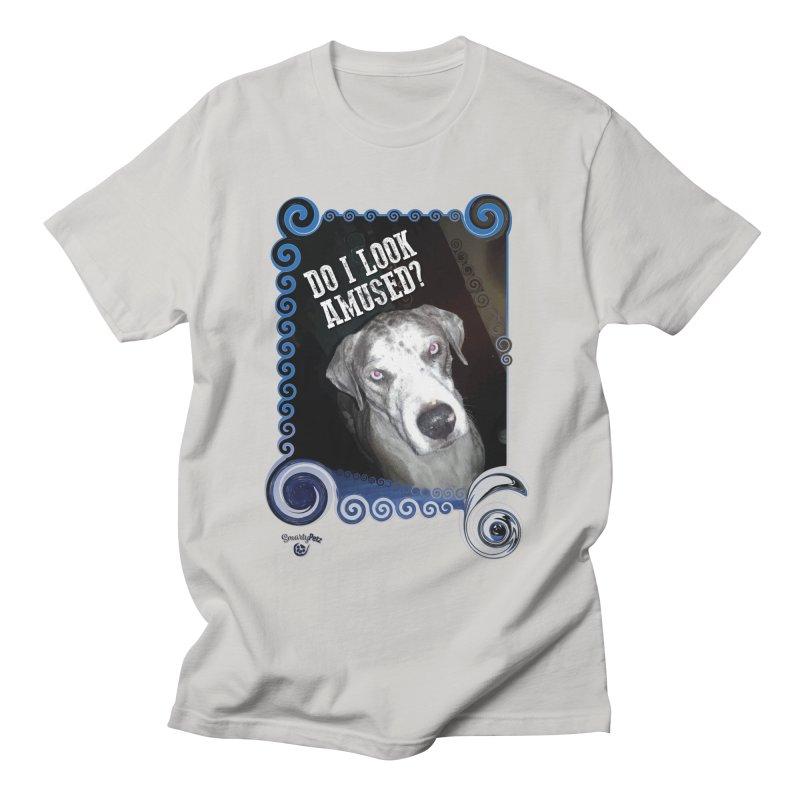 Do I look amused? Men's T-Shirt by Smarty Petz's Artist Shop