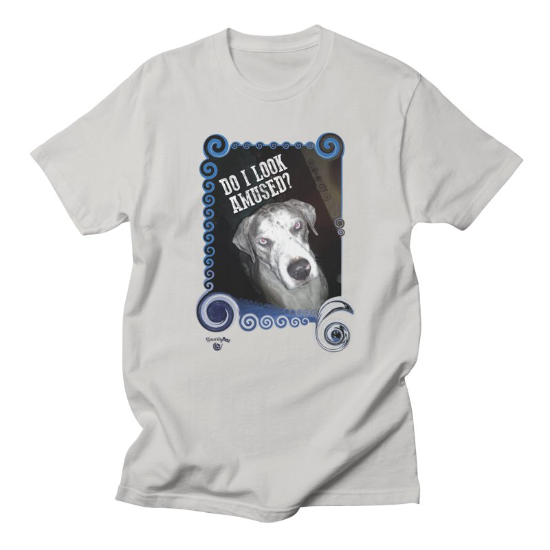 Do I look amused? Men's T-Shirt by Smarty Petz's Artist Shop