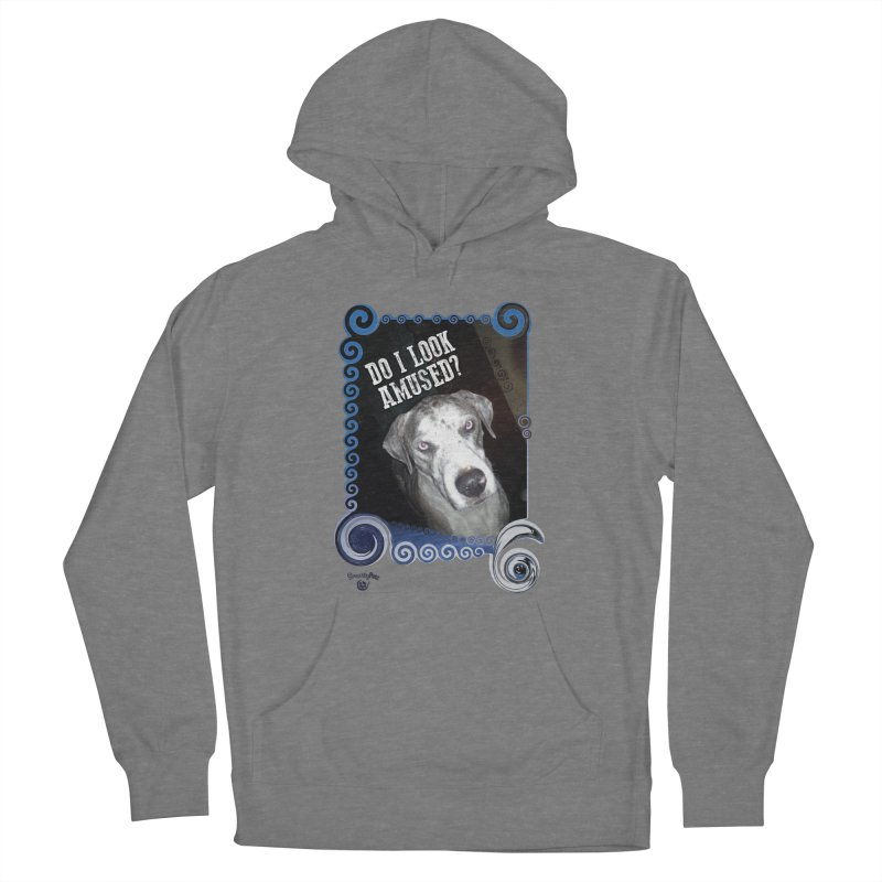 Do I look amused? Women's Pullover Hoody by Smarty Petz's Artist Shop