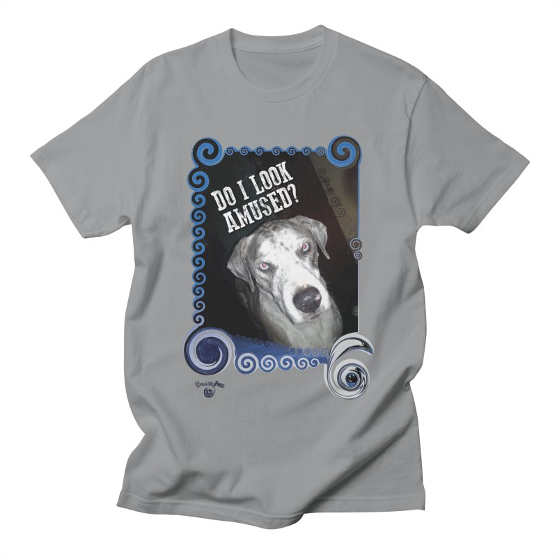 Do I look amused? Men's Regular T-Shirt by Smarty Petz's Artist Shop